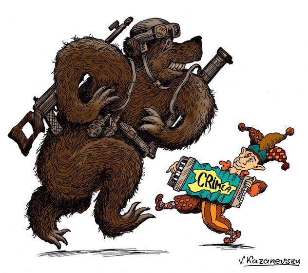 Если медведя посадить на цепь