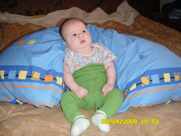 Как присаживать ребенка в подушки фото