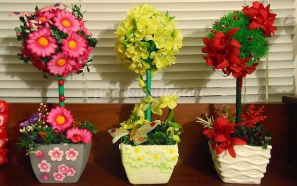 Мастер-класс искусственные цветы своими руками