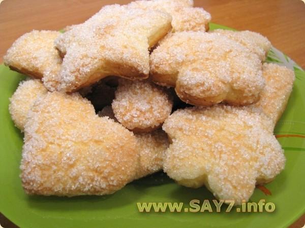 Вкусное печенье сахарное рецепт