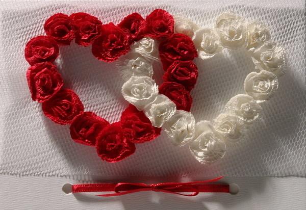 Как сделать красивое сердце на свадьбу своими руками
