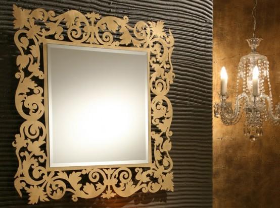 Декорировать зеркала своими руками фото
