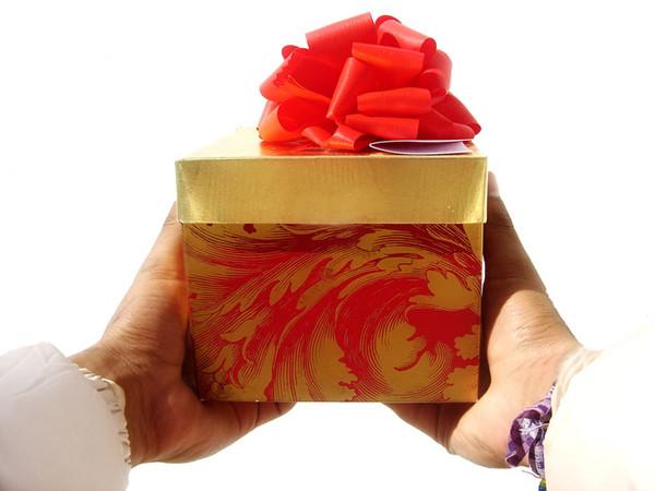 Не могу принимать подарки