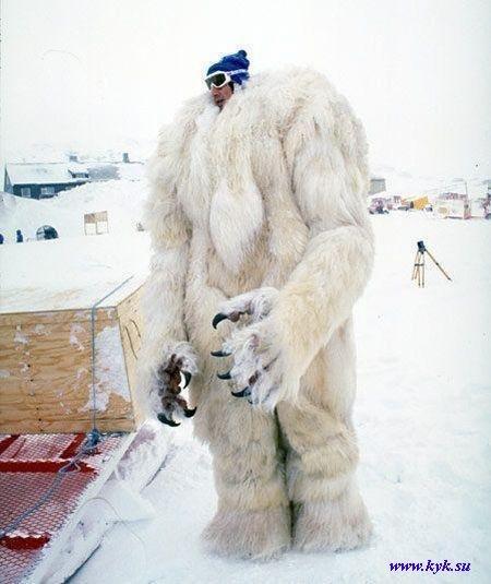 Как сделать снежного человека 542