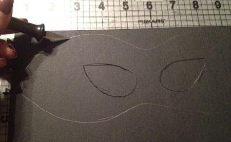 Как сделать маску из картона и бумаги видео - Оазис