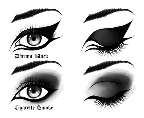 Как нарисовать глаз макияж
