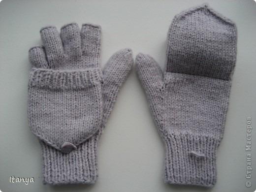 Как связать рукавицы и перчатки