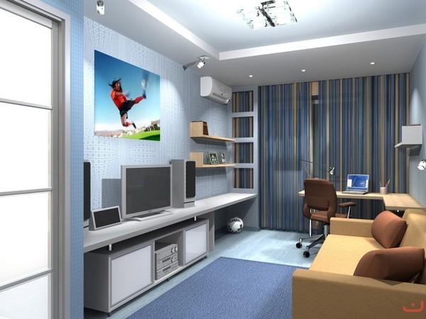 Комната для студента фото