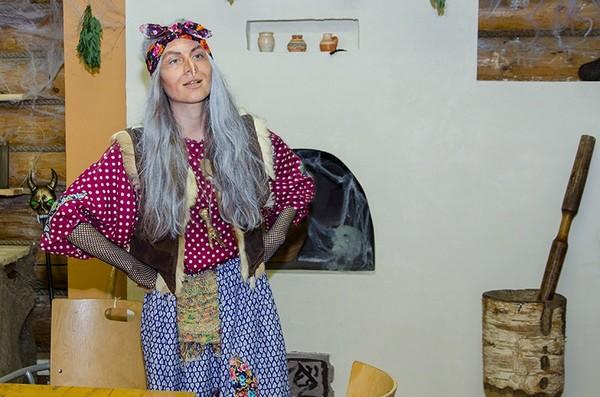 Как сделать костюм бабы яги в домашних