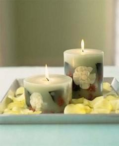 Воск для свечей своими руками