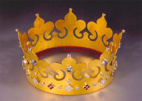 Корона сделана своими руками