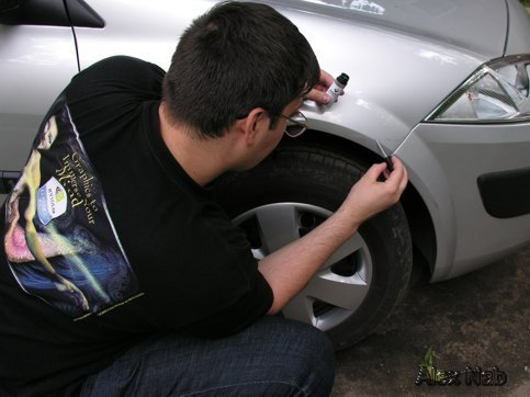 Как убрать царапину на машине в домашних