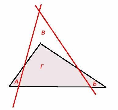 Как сделать из треугольника пятиугольник