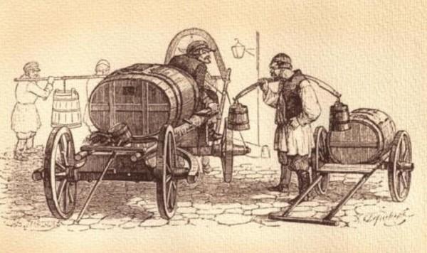 В чём раньше на носили воду