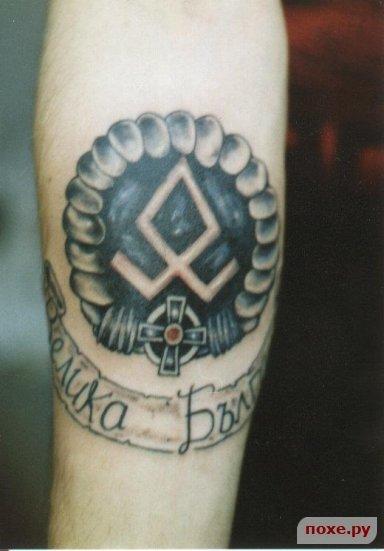 Татуировки правых фанатов