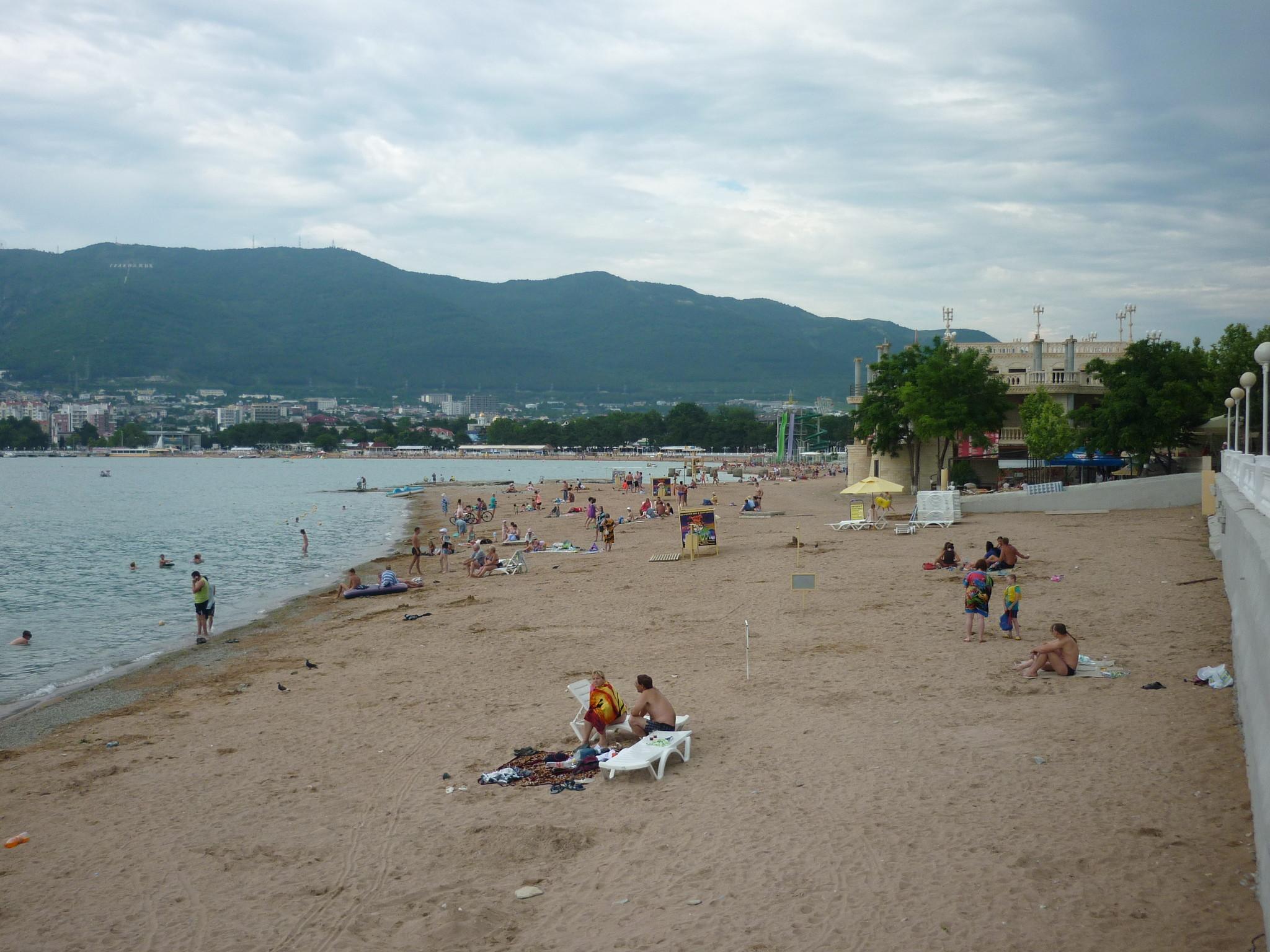 Пляжи кабардинки фото отзывы песчаный пляж