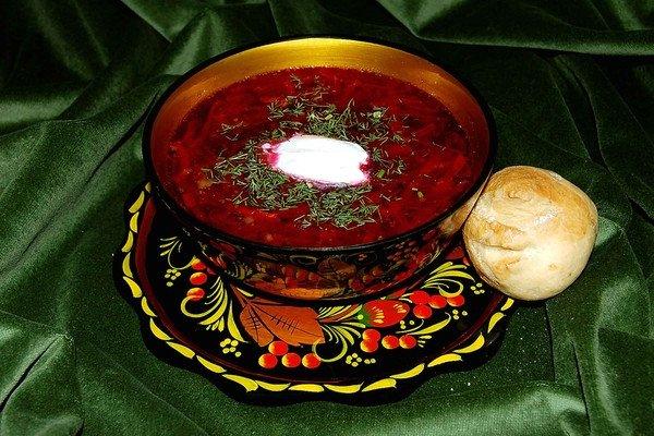 Борщ мясом рецепт пошаговый фото