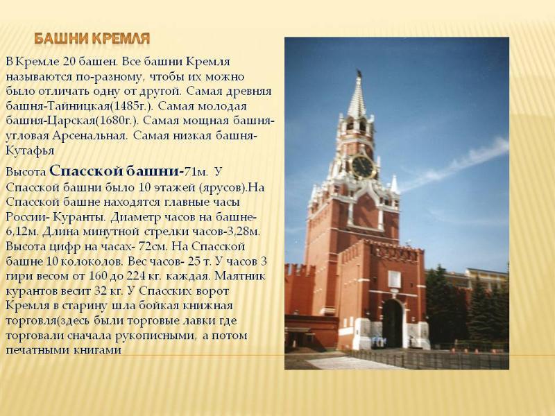 Спасская башня почему так называется