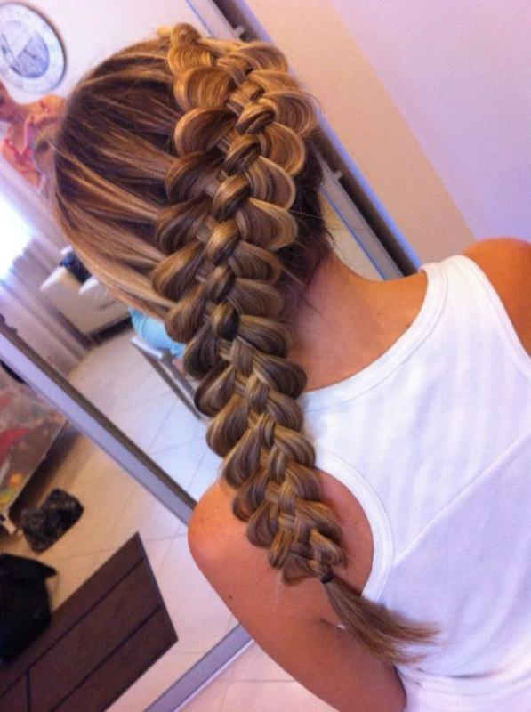 Красивые прически из косичек. плетения на длинные волосы