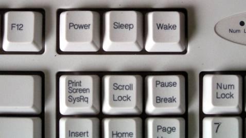 Где находится кнопка сна