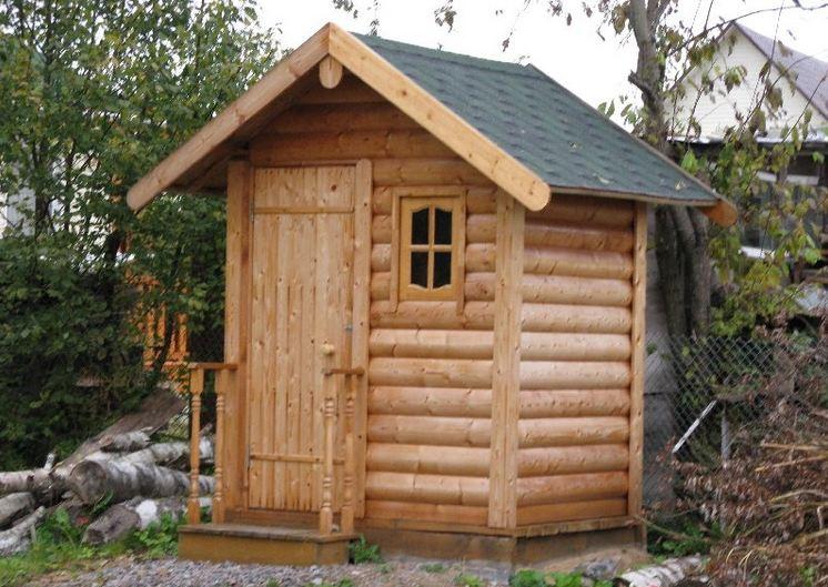 Туалет на даче просто