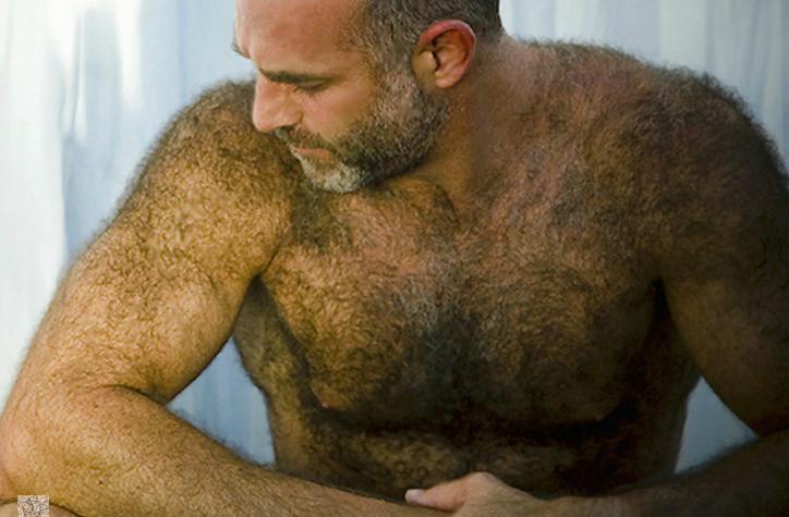 Волосатые мужчины трахаются 188