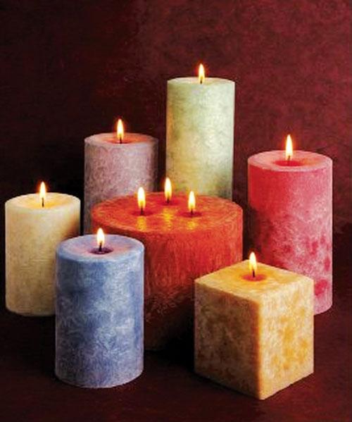 Как сделать своими руками ароматизированную свечу