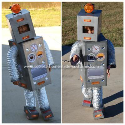 Как сделать костюм робота  на новый год