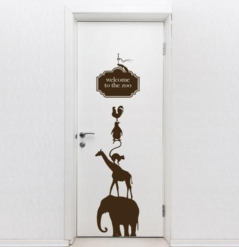 Трафарет для входной двери своими руками 30