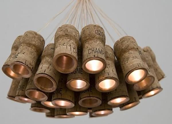 Люстра из пробок от шампанского своими руками 83