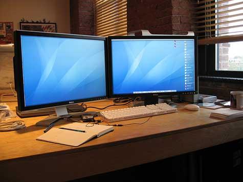 Как на 2 мониторах сделать разные рабочие столы