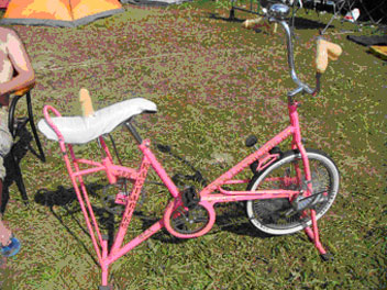 Порно велосипед с самотыком
