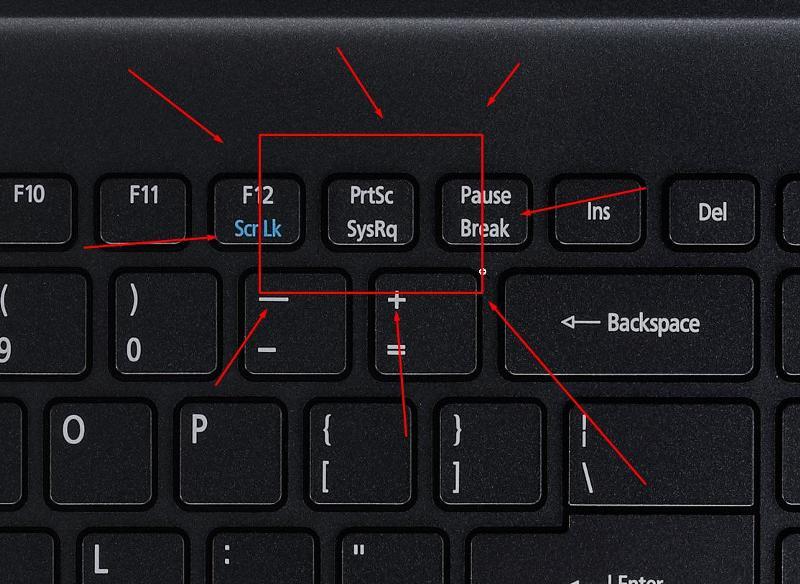 Как сделать скриншот на ноутбуке acer виндовс 8