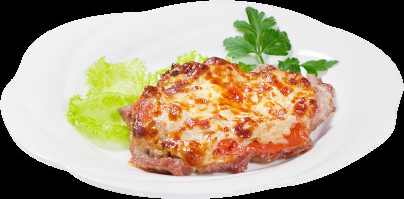 Мясо по-французски в духовке из свинины с помидорами рецепт с пошагово