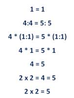 Математика для блондинок сколько будет метров и дециметров