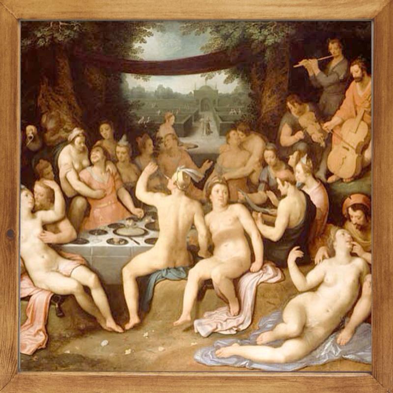 Древнеримская оргия секс разврат рим рабы порно