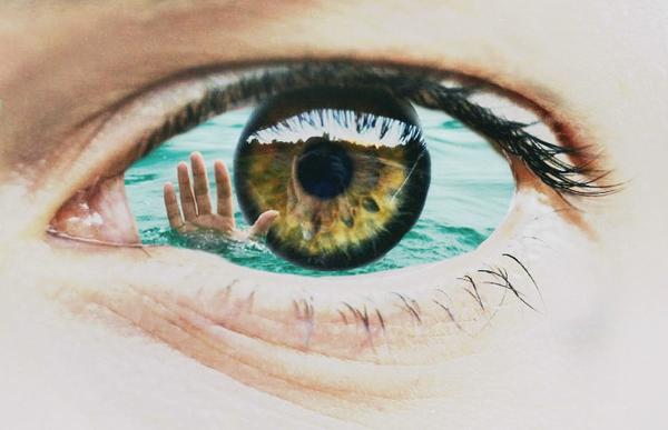 Стихи какое счастье утонуть в глазах