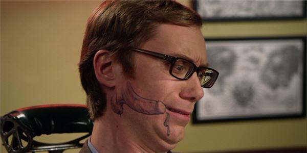 Дерут татуированных мразей 93