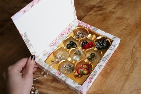 Как сделать коробочки из конфет