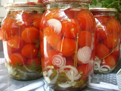 Закатать помидоры рецепт
