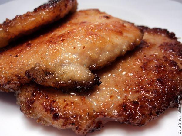 Вкусные отбивные из свинины рецепт