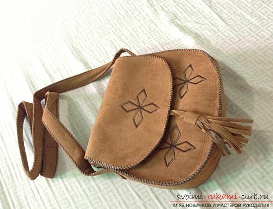 Как сшить маленькую сумочку на плечо своими