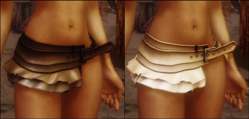 3 варианта). Мод добавляет в Skyrim новый набор женских вещей Арадии Като.