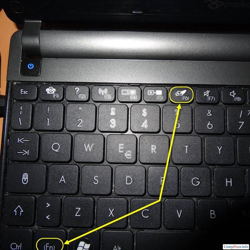 Почему сенсор на ноутбуке не работает