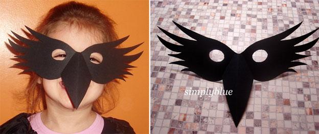 Костюм вороны своими руками простой способ