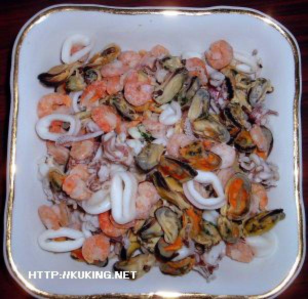 Рецепты с коктейлем из морепродуктов