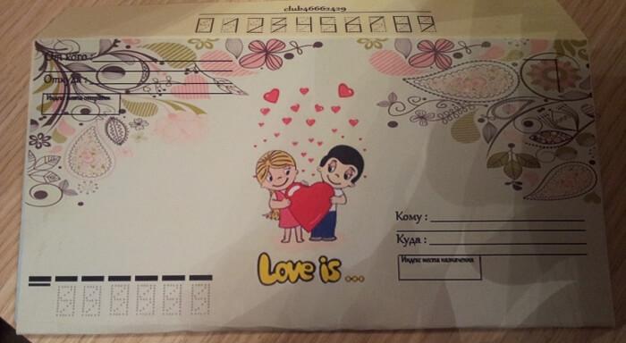 Любовные конверты для писем своими руками 79