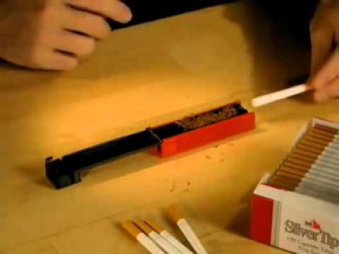 Машинка для заворачивания сигарет своими руками