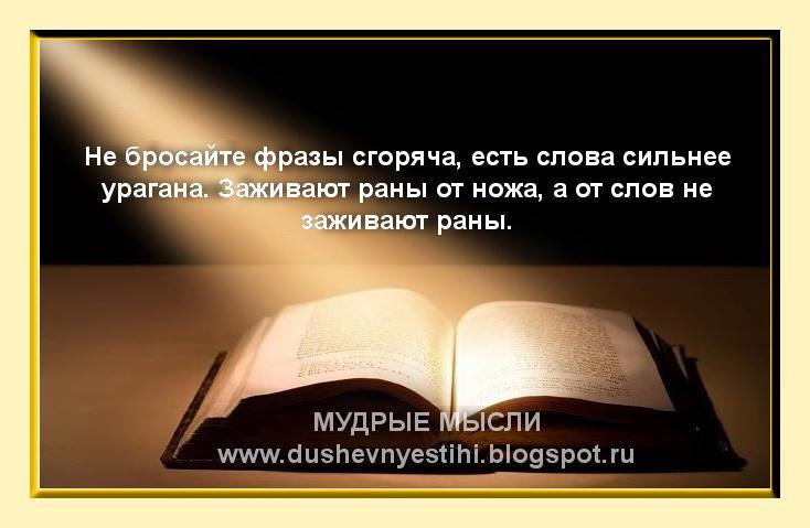 Афоризм в стихах одним словом