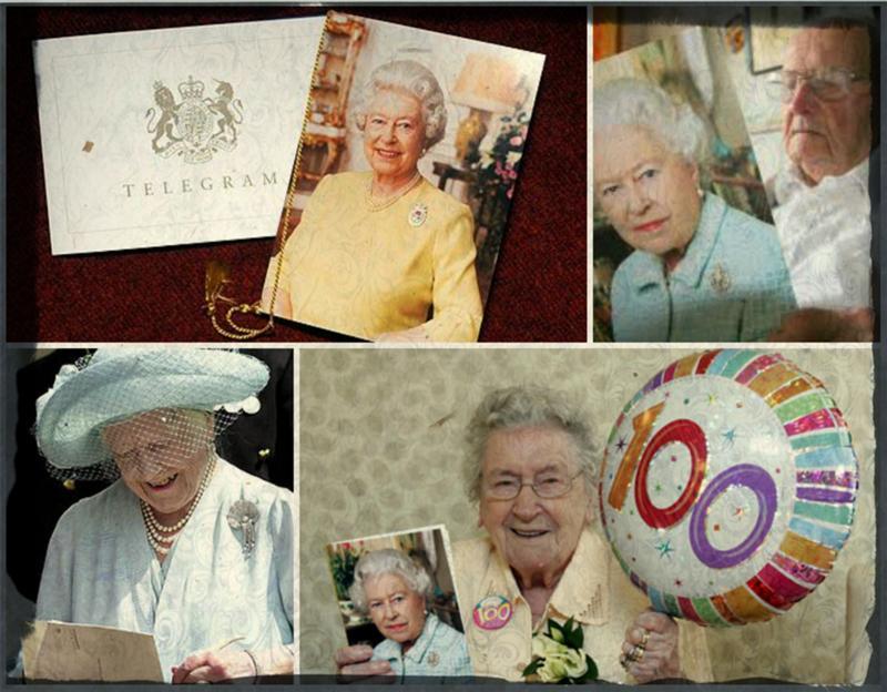 Поздравление от королевы елизаветы 7